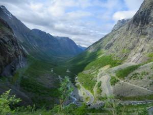 Norge Hurtigruten reseskildring Trollvägen
