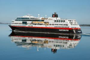 Norge Hurtigruten reseskildring M/S Finnmarken