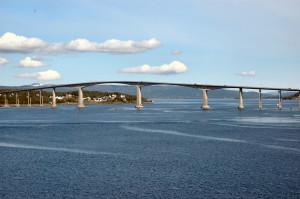 Norge Hurtigruten reseskildring Tromsö Ishavskatedralen