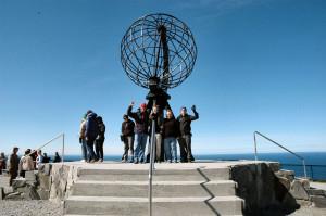 Norge Hurtigruten reseskildring Nordkapp Latitude: 71° 10´21