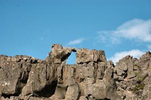 Island reseskildring Thingvellir