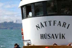Island reseskildring North Sailings båt Nattafari i Husavik