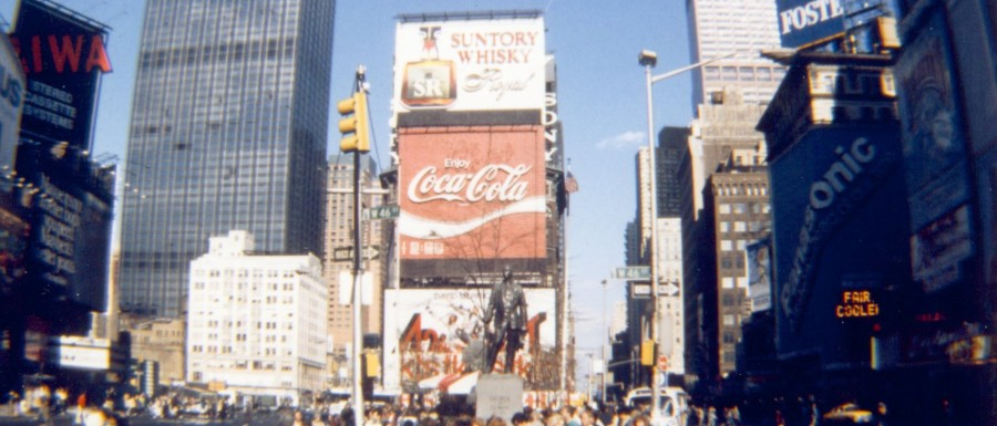 New York, USA 1988, Globetrottern