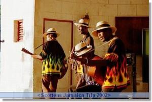 Jamaica reseskildring rastaband