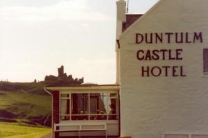 Skottland reseskildring Duntulm Castle Hotel