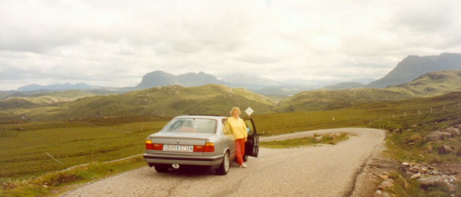Skottland, Scotland Single Track Roads 1988, Globetrottern