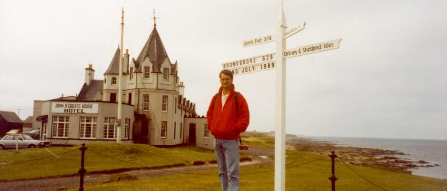 Skottland, Scotland Single Track Roads 1988, Globetrottern