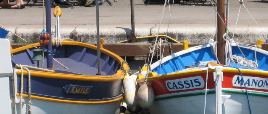 Cassis, Frankrike 2009 maj