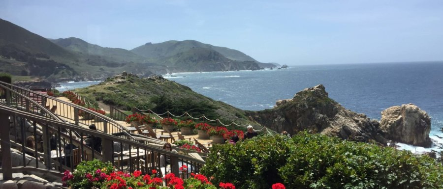 View from Rocky Point Restaurant