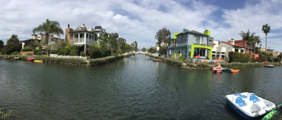 Venice Canals i Los Angeles