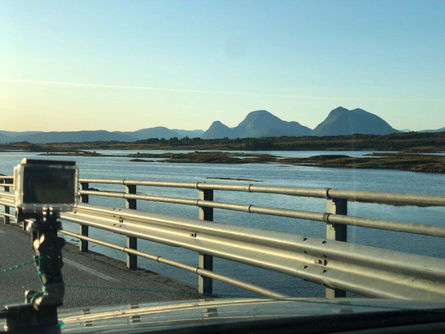 På tillbakaväg från Veiholmen
