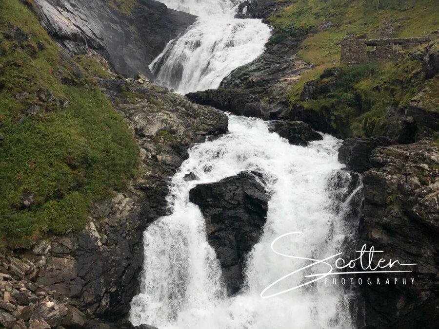 Kjosfossen waterfall, FLÅM